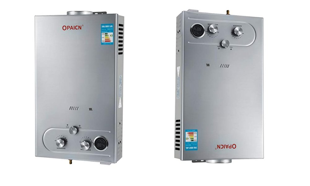 VEVOR 18L Propane Hot Water Heater